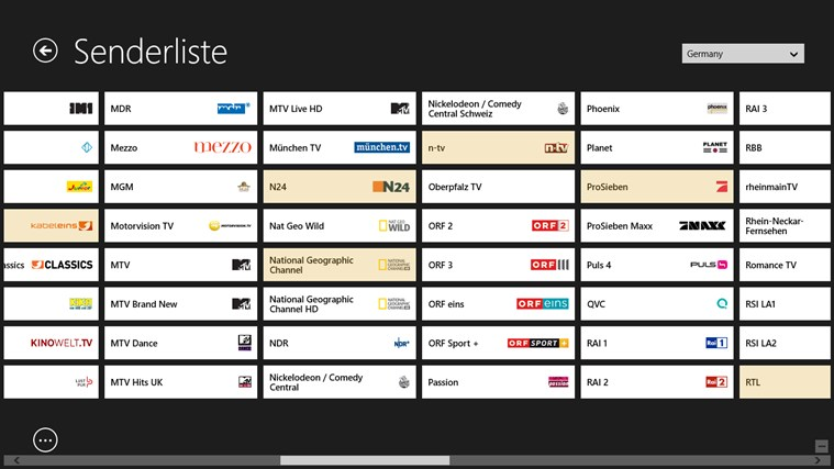 TV-Programm Screenshot 8