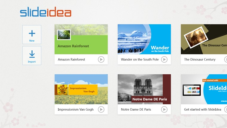 SlideIdea screen shot 0