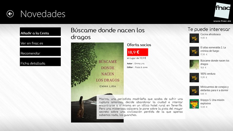 Fnac.es captura de pantalla 0