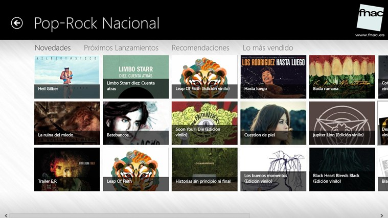 Fnac.es captura de pantalla 2
