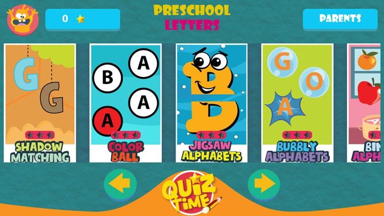 GS Kids! Preschool Letters screen shot 0