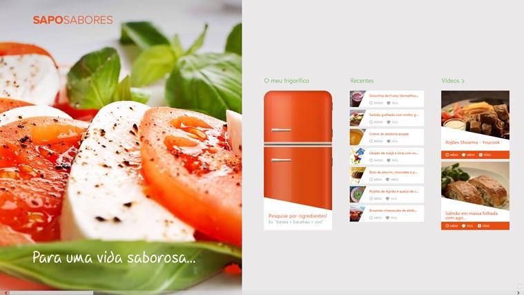 SAPO Sabores screen shot 0