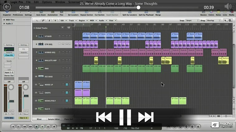 Logic - Drum & Bass Production Tangkapan Layar 4