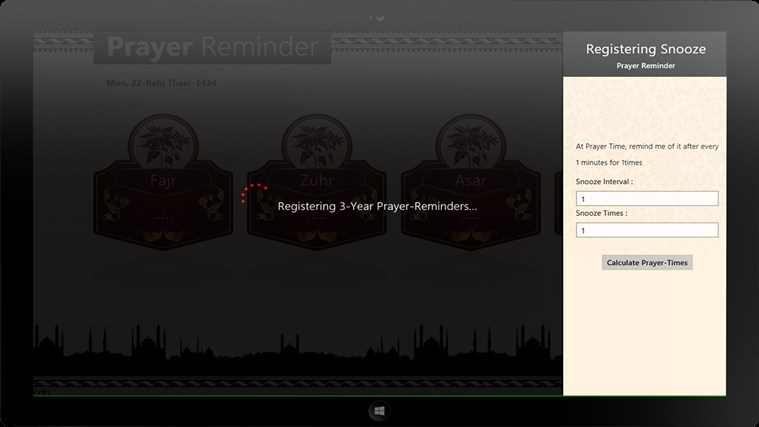 Prayer Reminder screen shot 2