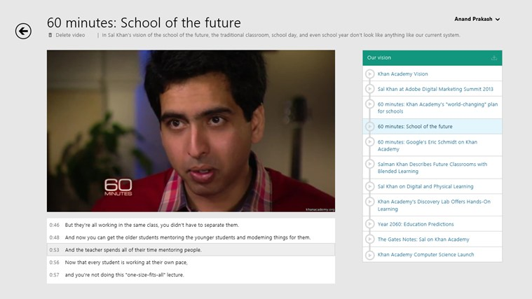 Khan Academy screen shot 6