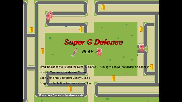 Super G Defense screen shot 0