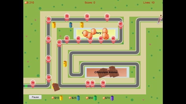 Super G Defense screen shot 2
