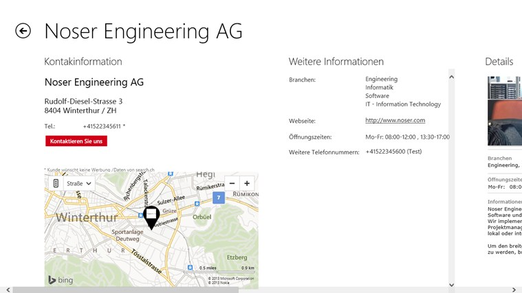 search.ch Screenshot 4