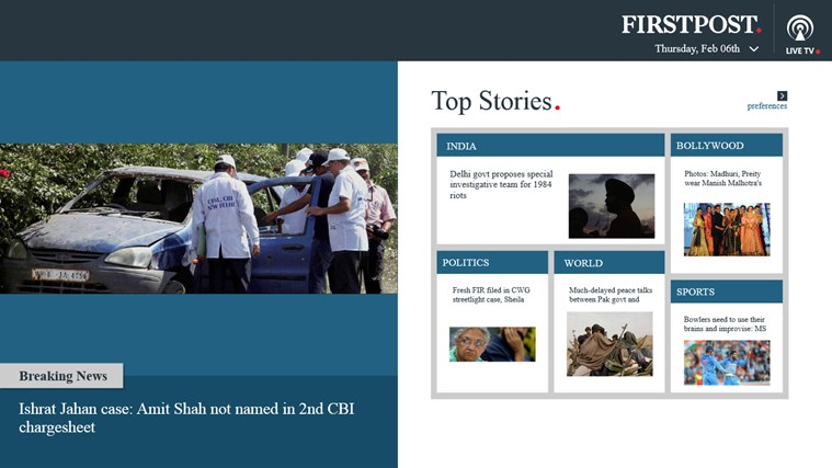 Firstpost screen shot 0