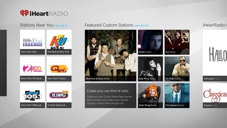 iHeartRadio full screenshot
