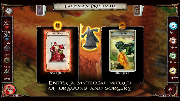 Talisman Prologue screen shot 2