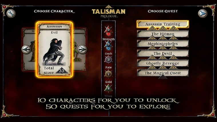 Talisman Prologue screen shot 4