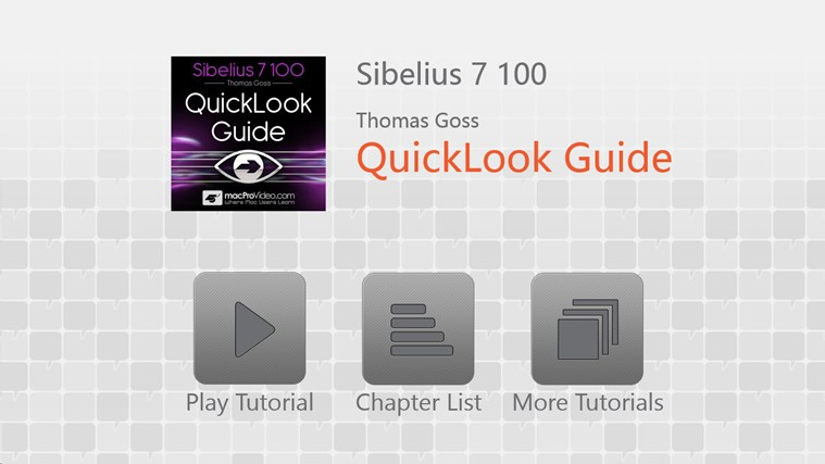 Sibelius 7 100 - QuickLook Guide captură de ecran 0