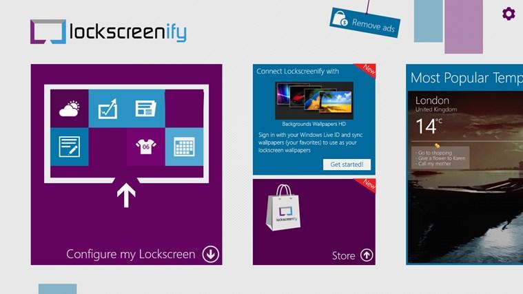 Lockscreenify screen shot 0