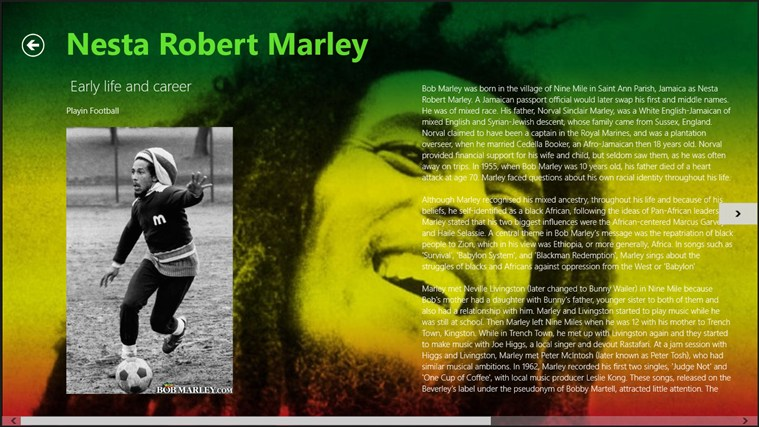 Bob Marley screenshot 0