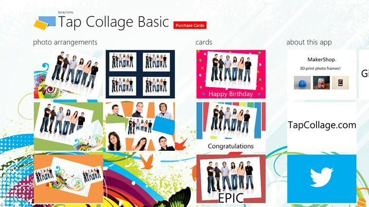 Tap Collage Basic  full