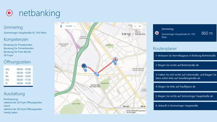 Erste Bank / Sparkasse Österreich - netbanking Screenshot 2