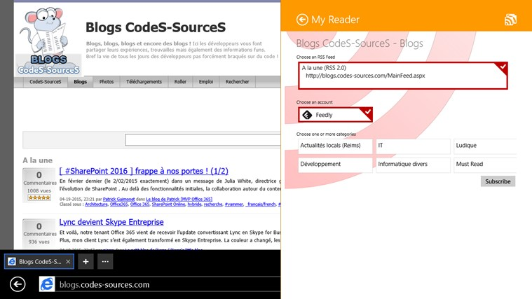 MyReader screen shot 6