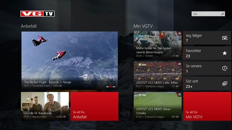 VGTV skjermbilde 0