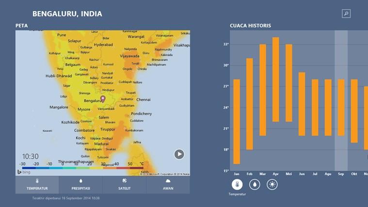 MSN Cuaca screenshot 2