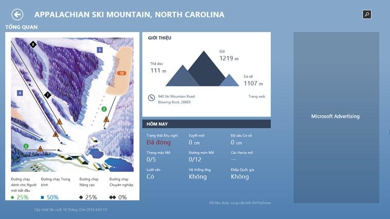 Thời tiết trên MSN ảnh chụp màn hình 4