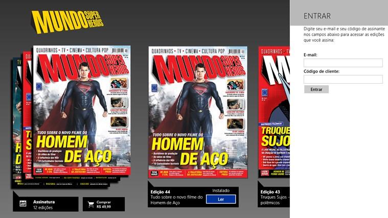 Revista Mundo dos Super-Heróis captura de pantalla 6