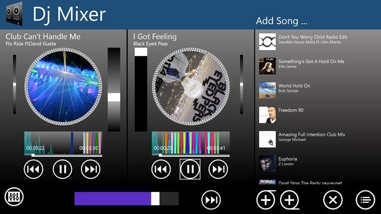 Dj Mixer snímek obrazovky 0