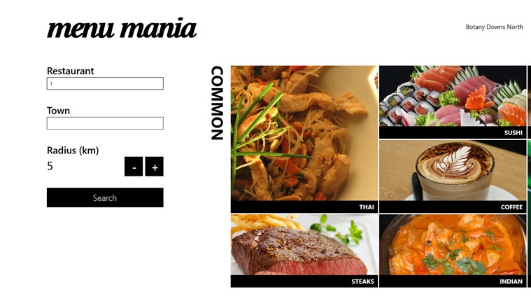 Menu Mania screen shot 0