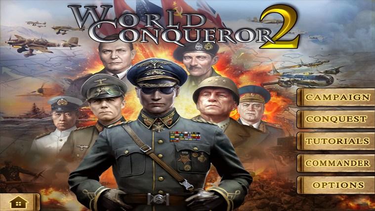 World Conqueror 2 screen shot 0