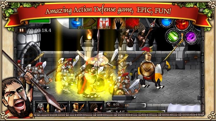 Spartans vs Zombies Defense screen shot 0