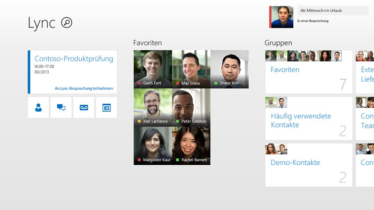 Lync Screenshot 0