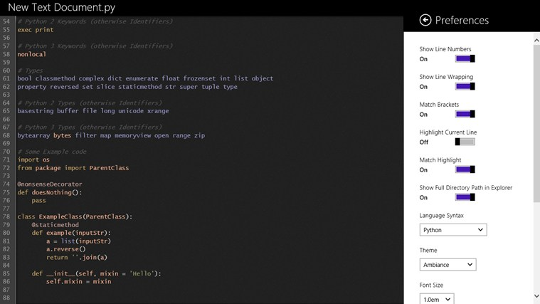 CodePlus screen shot 4