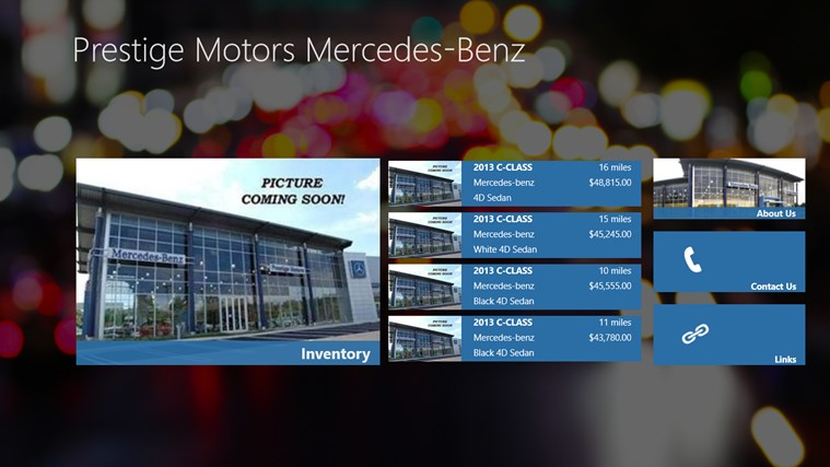 Prestige Motors DealerApp screen shot 0