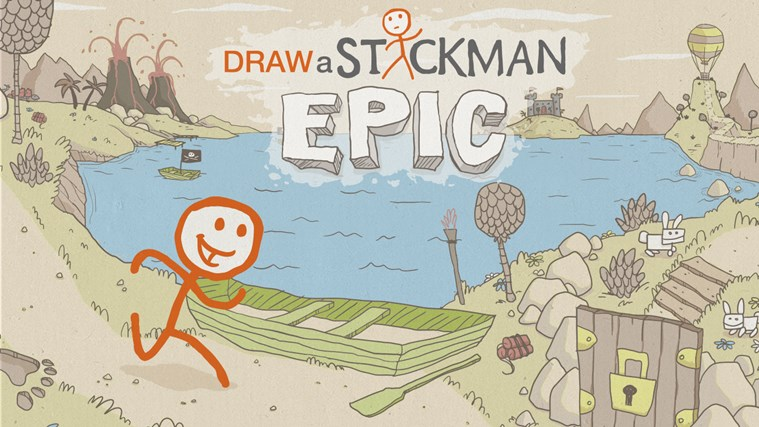 Draw a Stickman: EPIC Free screen shot 0