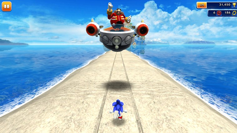 Sonic Dash screen shot 0