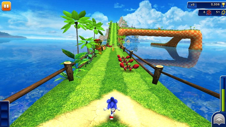 Sonic Dash screen shot 2