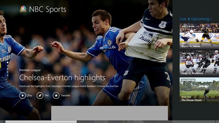 NBC Sports Live Extra screen shot 0