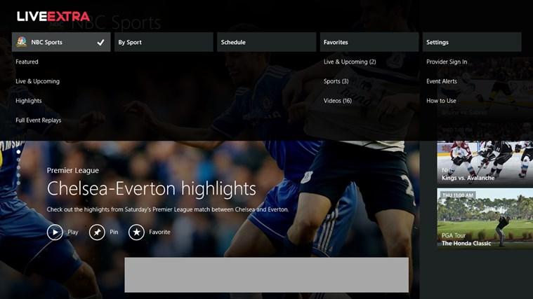 NBC Sports Live Extra screen shot 4