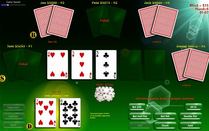 PlayPoker - Texas Hold'em screen shot 0