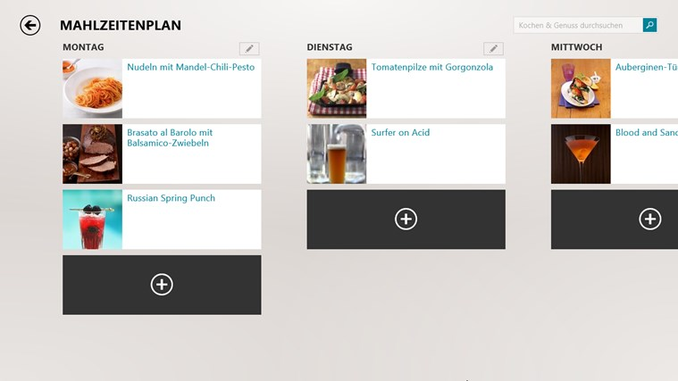 MSN Kochen & Genuss Screenshot 2