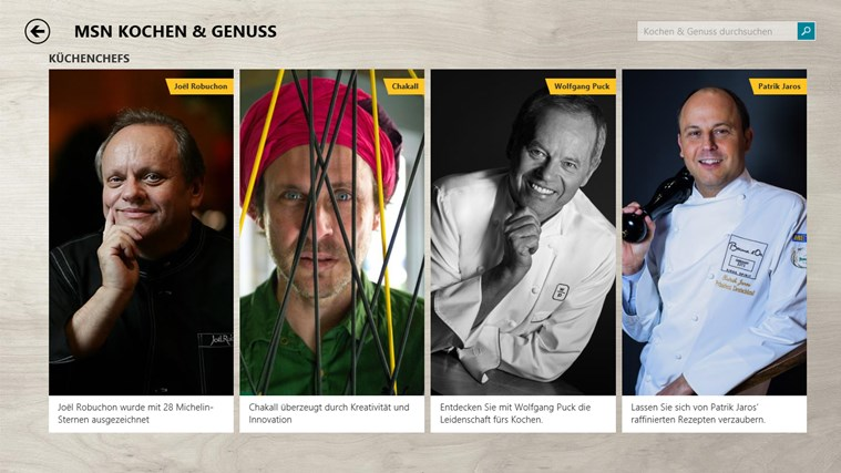 MSN Kochen & Genuss Screenshot 4