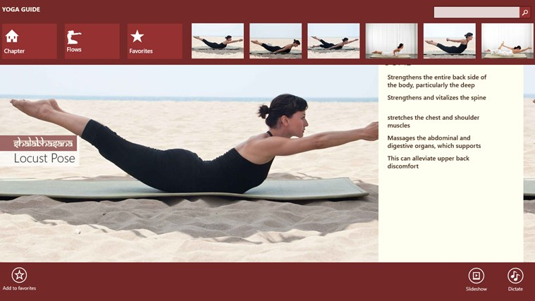 Yoga Guide screen shot 4