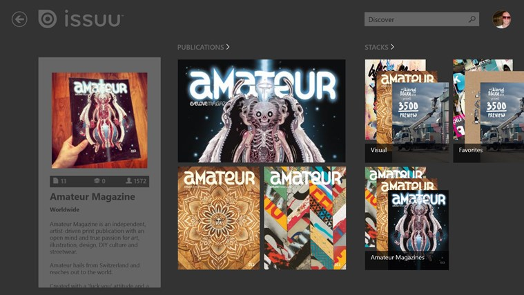 Issuu screen shot 4