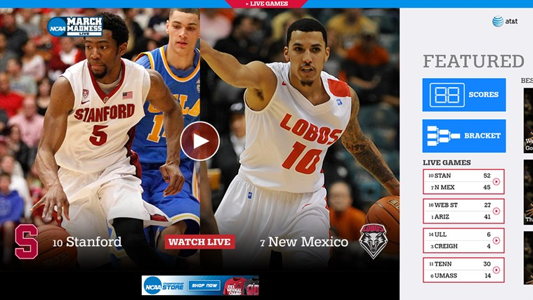 NCAA® March Madness® Live screen shot 0