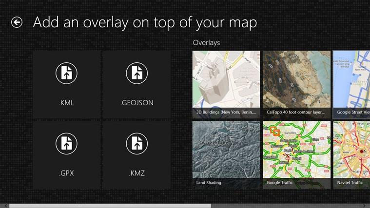 Maps Pro screen shot 8