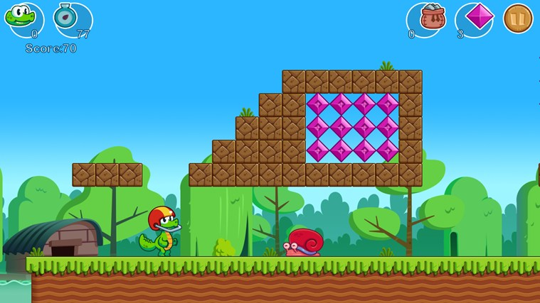 Croc's World screen shot 0