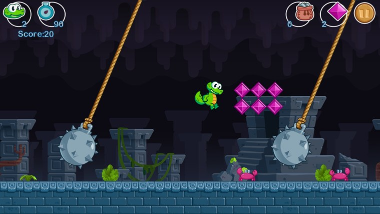 Croc's World screen shot 6