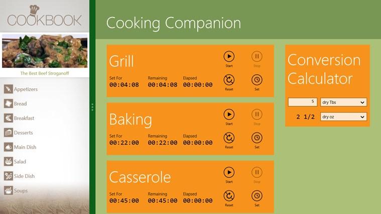 Cooking Companion näyttökuva 2