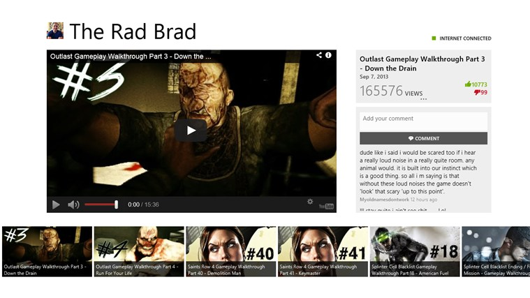 The Rad Brad screen shot 2