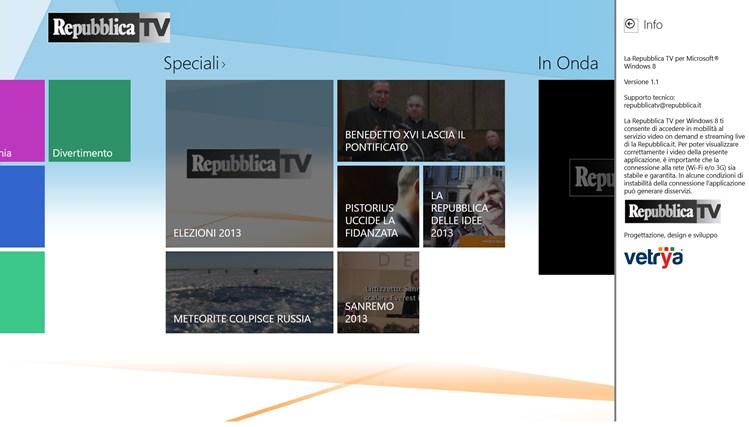 RepubblicaTV cattura di schermata 6